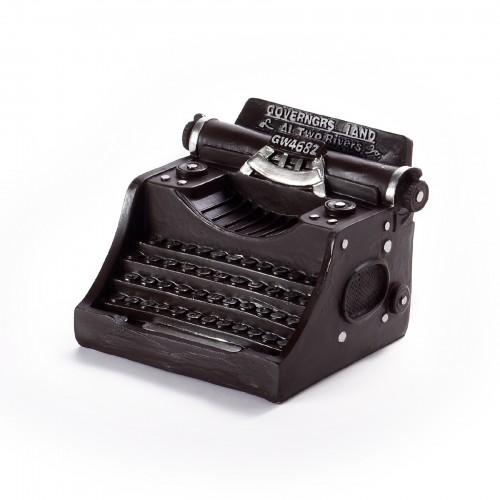 Miniatura de máquina de escrever de Ferro