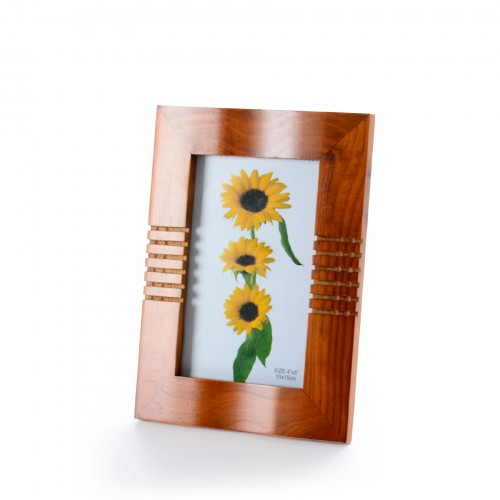 Porta retrato de madeira