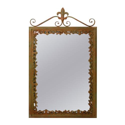 Espelho de Ferro Rústico