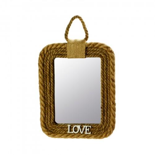 Espelho de parede Corda Love