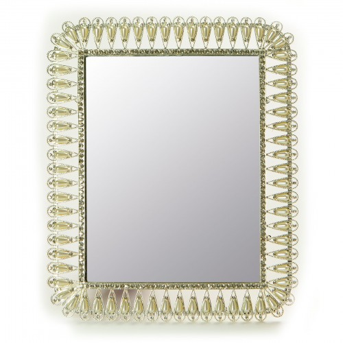 Espelho com Pérolas