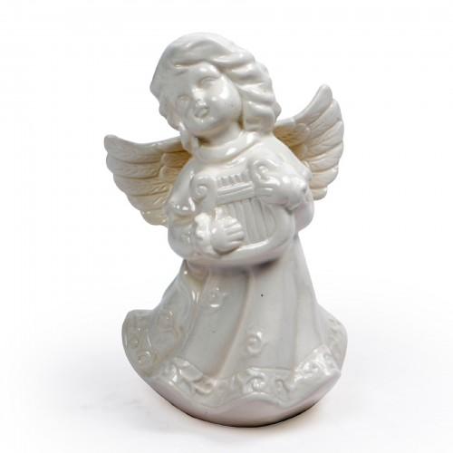 Anjo de cerâmica Branco