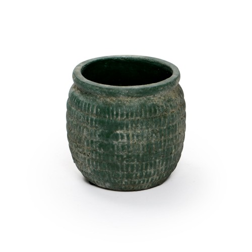 Vaso de cerâmica pequeno Verde