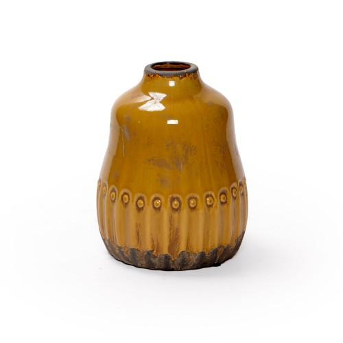 Vaso de cerâmica Médio Ocre