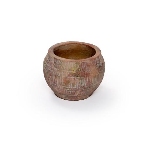 Vaso de cerâmica pequeno Rústico