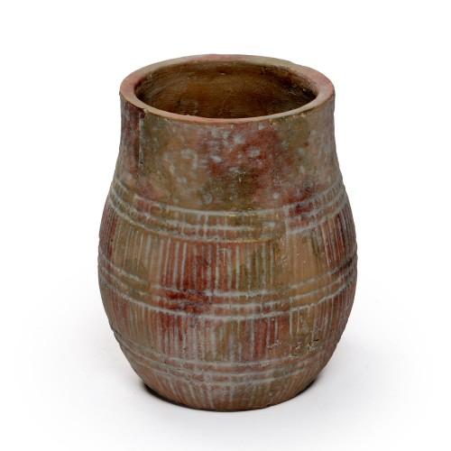 Vaso de cerâmica grande Rústico