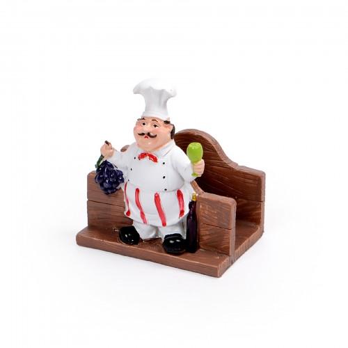 Porta guardanapo Cozinheiro