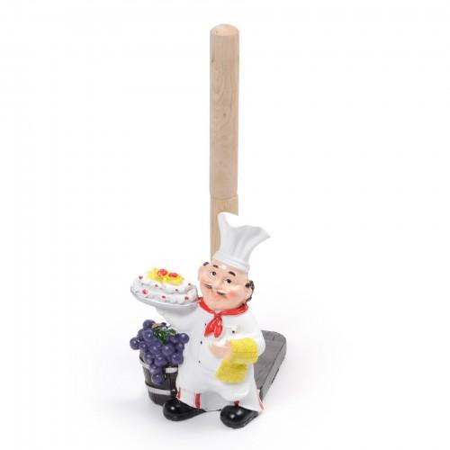 Porta rolo de papel Cozinheiro