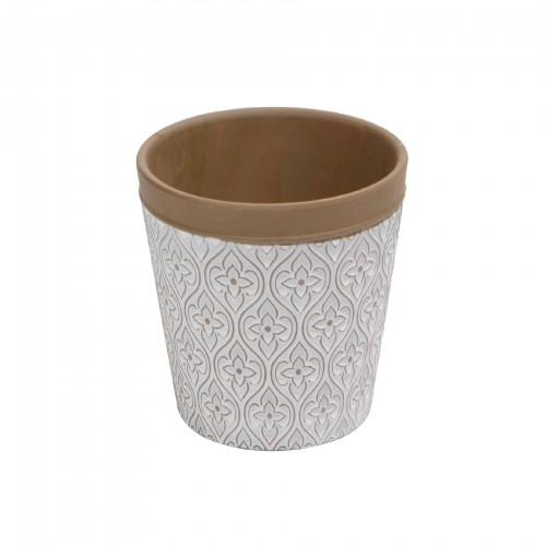 Cachepô pequeno de cerâmica