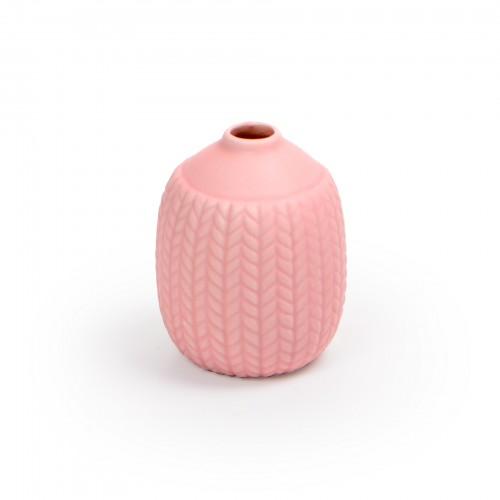Mini vaso de cerâmica Rosa