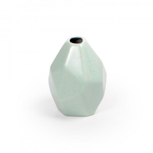 Mini vaso de cerâmica Verde