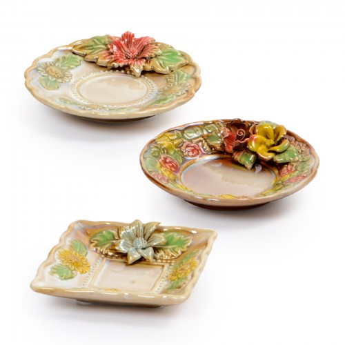 Conjunto de pratinhos de Cerâmica
