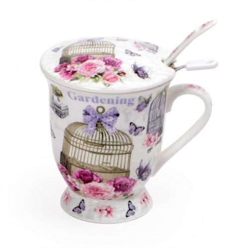 Xícara para Chá Borboletas