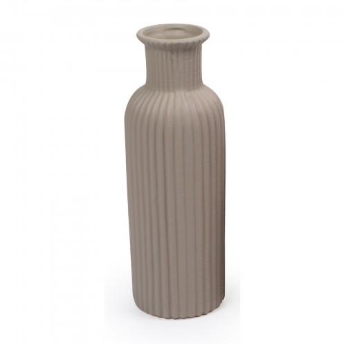 Vaso de cerâmica Bege