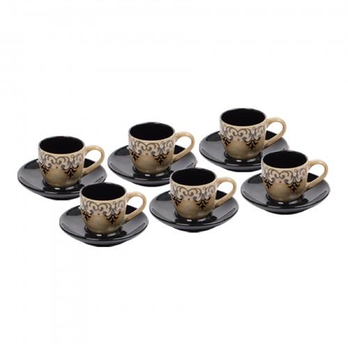 Jogo de xícaras de Chá Arabesco