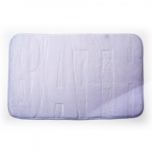 Tapete para banheiro Bath Branco