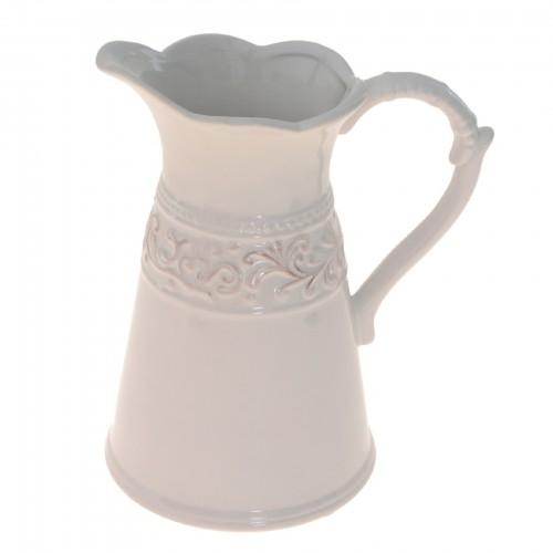 Vaso modelo jarra de cerâmica