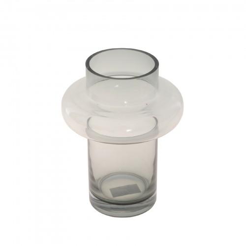 Vaso de Vidro Redondo Pequeno