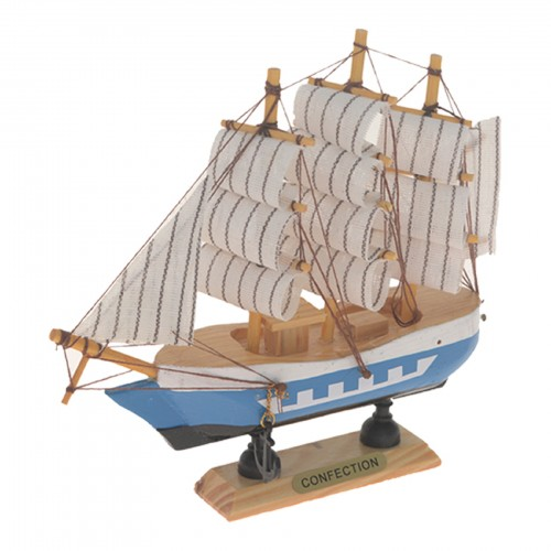 Barco grande decorativo