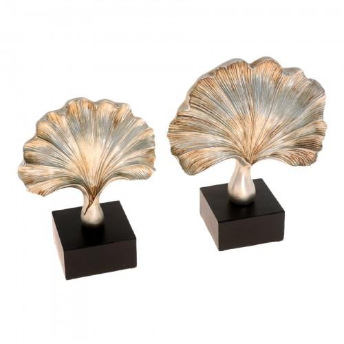 Conjunto de Escultura de cerâmica