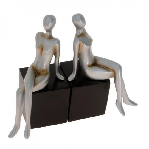 Conjunto de esculturas de Cerâmica
