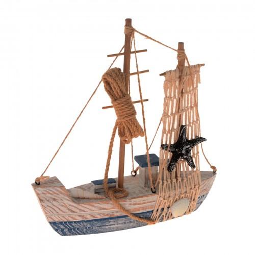 Barco pequeno decorativo