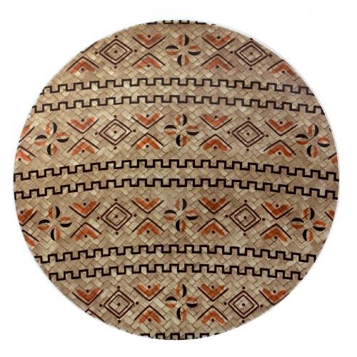 Bowl de Vidro Étnico Grande sem suporte