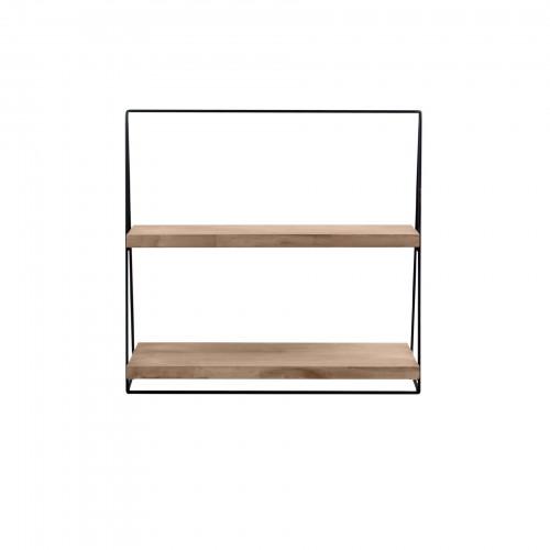Suporte escada de madeira 02 andares