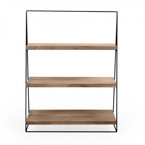Suporte escada de madeira 03 andares