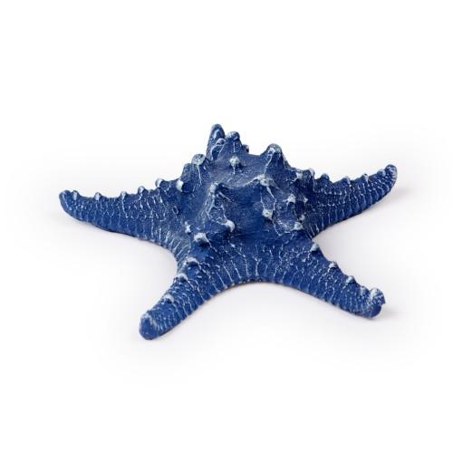 Estrela de resina Azul Marinho