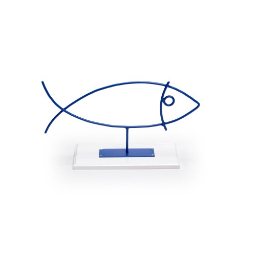 Escultura de ferro Peixe Pequeno