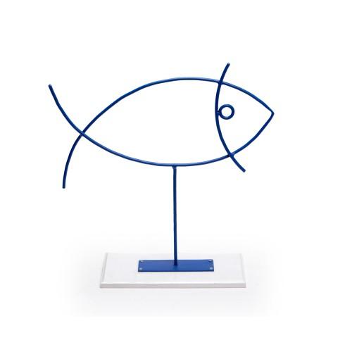 Escultura de ferro Peixe Grande