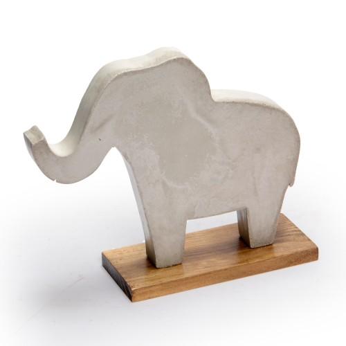 Escultura de concreto Elefante