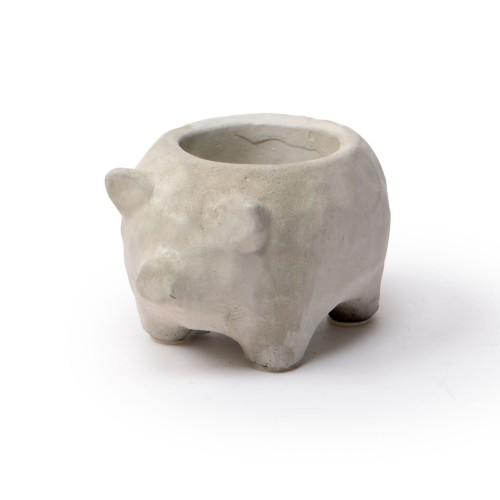 Vaso de concreto Porco