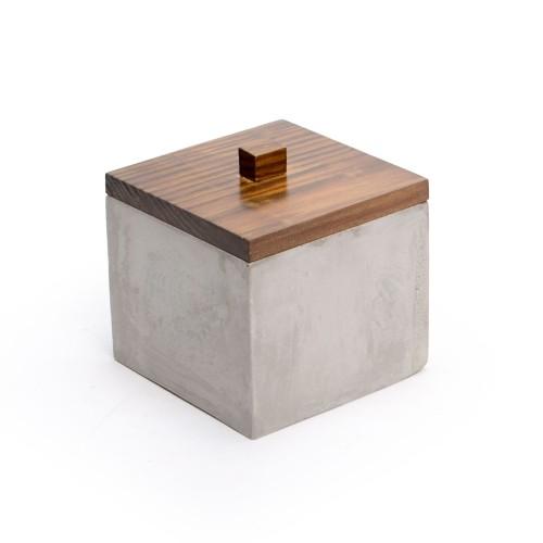 Caixa de concreto Quadrada Pequena