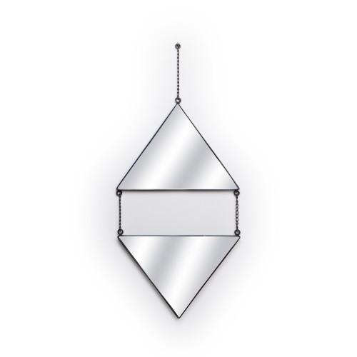 Espelho com 02 Triângulos