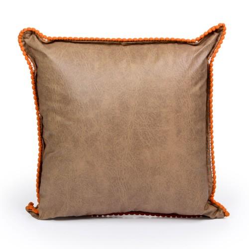 Capa de almofada de Corino Marrom