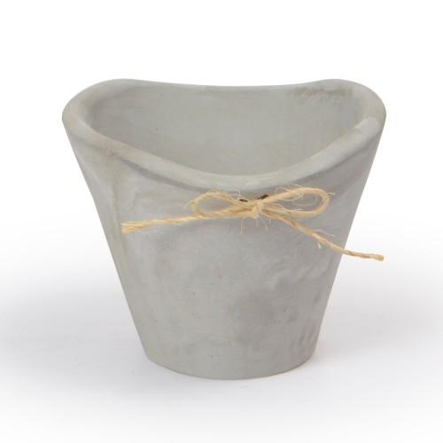 Vaso de Concreto com laço