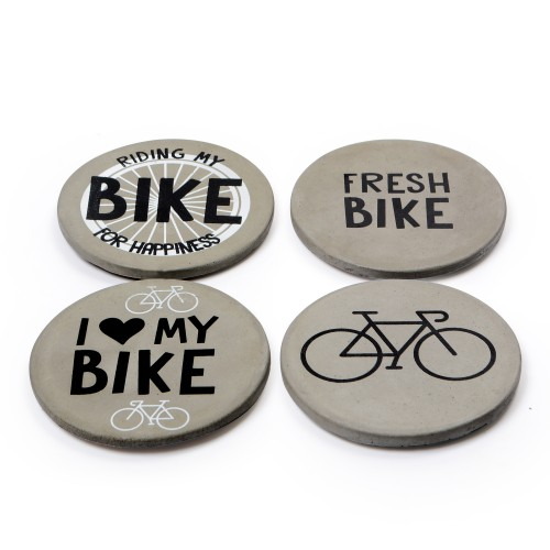 Conjunto porta copos Bike