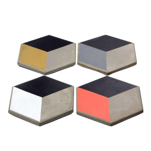 Conjunto porta copos Cubo