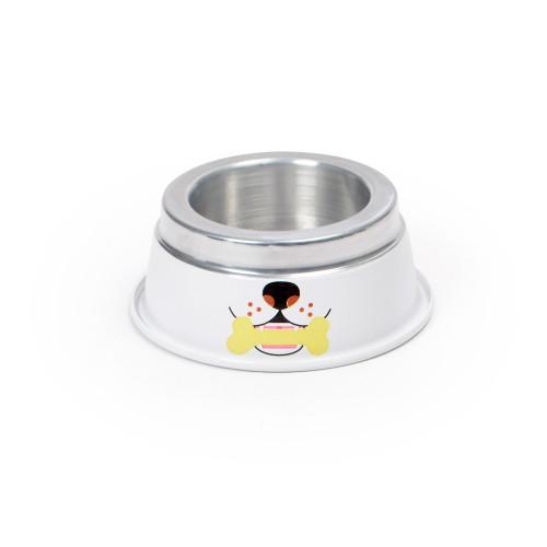 Comedouro de alumínio Pequeno para Cachorro