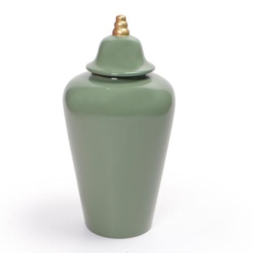 Vaso de cerâmica com tampa Médio