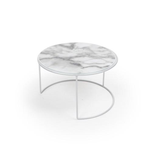 Suporte de vidro com base de ferro pequeno