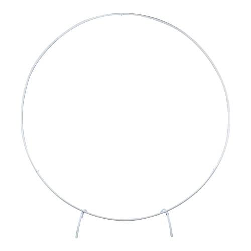 Arco desmontável de ferro Branco