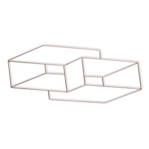 Mandala de ferro com blocos