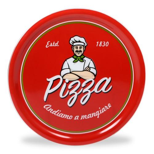 Prato de Pizza Italiano