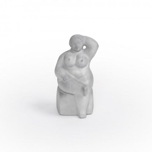 Escultura Colombiana Sentada