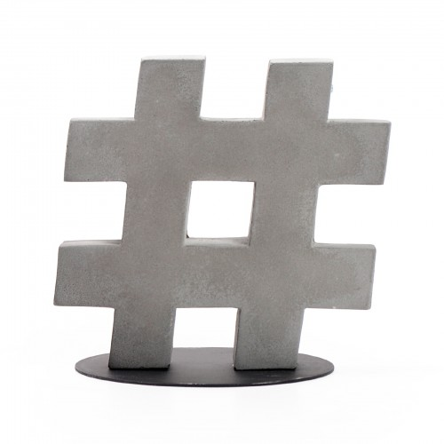 Porta Livro Hashtag