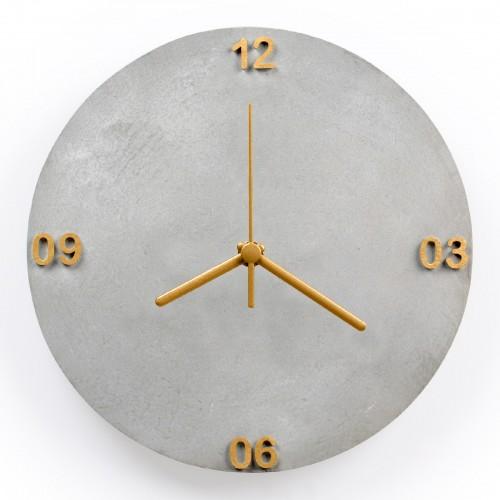 Relógio de parede de Concreto