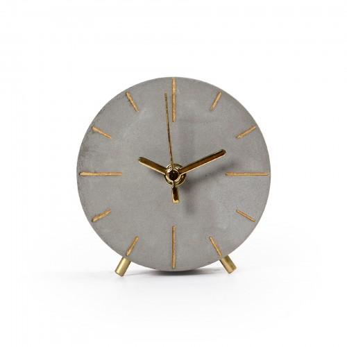 Relógio de mesa de Concreto